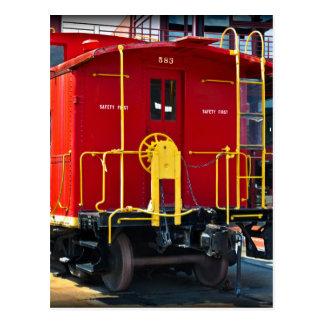 Lehigh/NE Caboose 583 Postcard