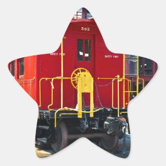 Lehigh/NE Caboose 583 Star Sticker