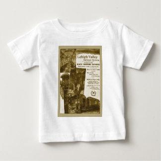 Lehigh Valley Railroad 1897 Vintage Train Poster T-shirt
