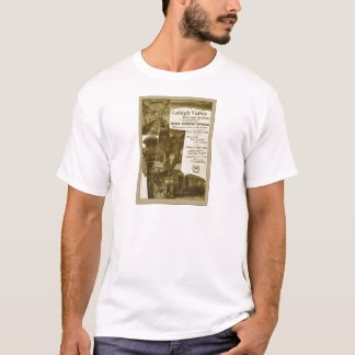 Lehigh Valley Railroad 1897 Vintage Train Poster T-Shirt