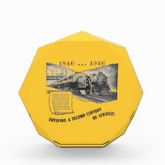 Lehigh Valley Railroad-A Second Century of Service Acrylic Award