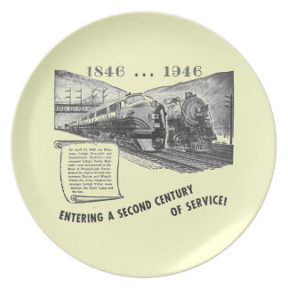 Lehigh Valley Railroad-A Second Century of Service Dinner Plate