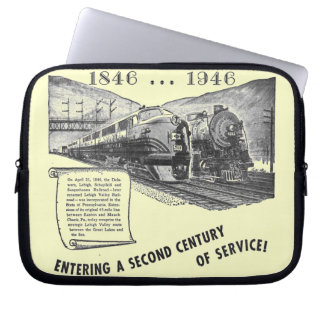 Lehigh Valley Railroad-A Second Century of Service Laptop Sleeve