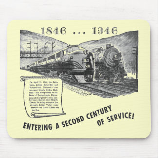 Lehigh Valley Railroad-A Second Century of Service Mouse Pads