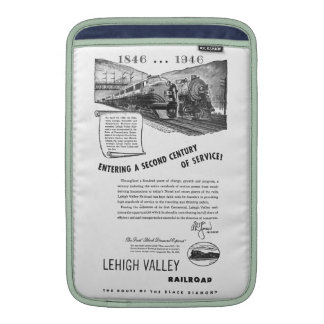 Lehigh Valley Railroad-A Second Century of Service Sleeves For MacBook Air
