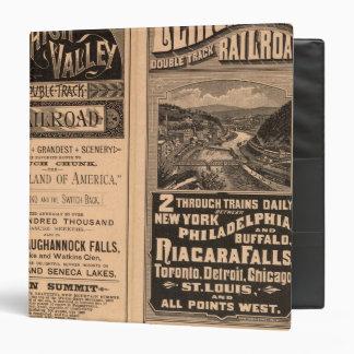 Lehigh Valley Railroad Binders