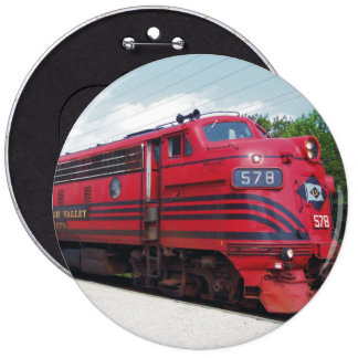 Lehigh Valley Railroad F-7A 578 Cape May N J Pinback Buttons