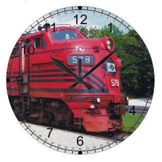 Lehigh Valley Railroad F-7A #578 @ Cape May N.J. Wall Clock