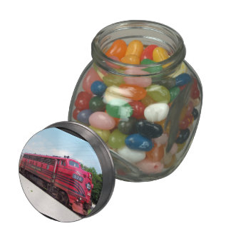 Lehigh Valley Railroad F-7A #578 @ Cape May N.J. Jelly Belly Candy Jar
