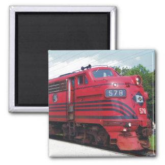 Lehigh Valley Railroad F-7A #578 @ Cape May N.J. Refrigerator Magnet
