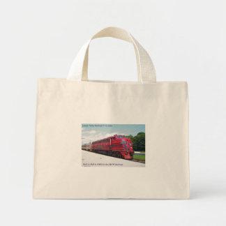 Lehigh Valley Railroad F-7A #578 @ Cape May N.J. Mini Tote Bag