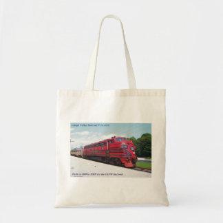 Lehigh Valley Railroad F-7A #578 @ Cape May N.J. Tote Bag