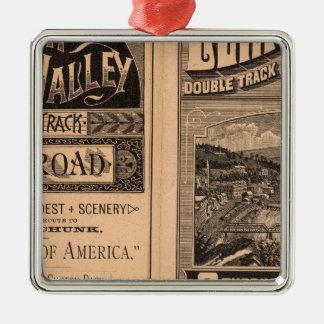 Lehigh Valley Railroad Metal Ornament