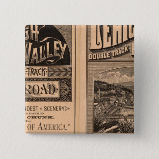 Lehigh Valley Railroad Pinback Button