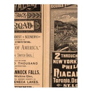 Lehigh Valley Railroad Postcard