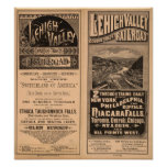 Lehigh Valley Railroad Poster