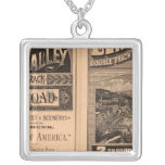 Lehigh Valley Railroad Silver Plated Necklace