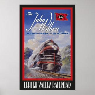 Lehigh Valley Streamliner Poster
