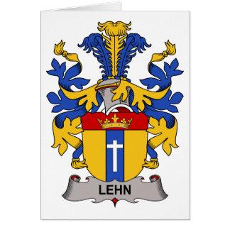 Lehn Family Crest Greeting Card
