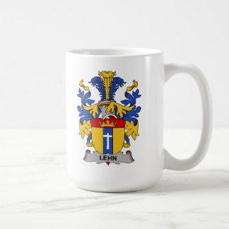 Lehn Family Crest Classic White Coffee Mug