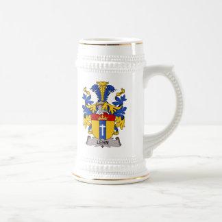 Lehn Family Crest 18 Oz Beer Stein