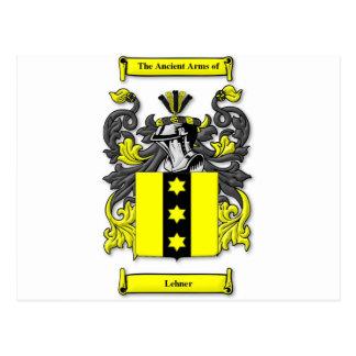 Lehner Coat of Arms Postcard
