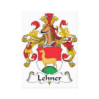 Lehner Family Crest Gallery Wrapped Canvas