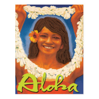 Lei Aloha Postcard
