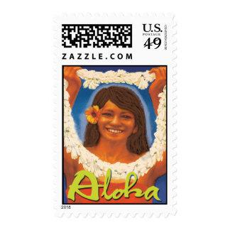 Lei Aloha Stamp