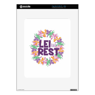 Lei And Rest iPad Decal
