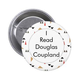 Leí el botón canadiense de los libros de Douglas Pin Redondo De 2 Pulgadas