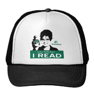 Leí el casquillo de los papeles gorras