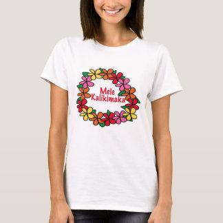 Lei Hawaiian Christmas T-Shirt