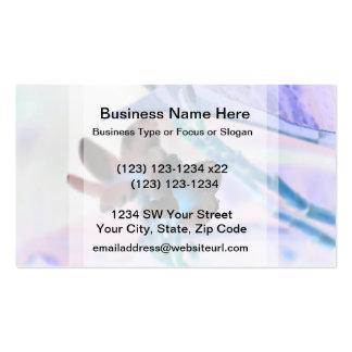 lei invert flower pastels neat flower design business card templates