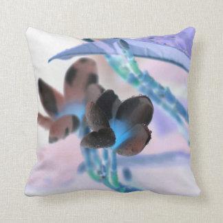 lei invert flower pastels neat flower design throw pillow