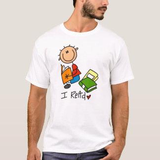 Leí las camisetas y los regalos