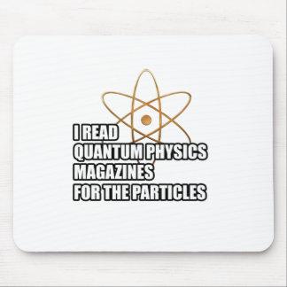 Leí las revistas de la física de quántum para las tapetes de ratones