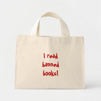 ¡Leí los libros prohibidos! bolso Bolsas De Mano