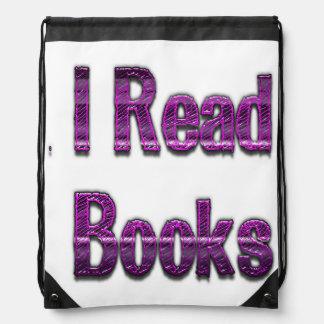 Leí los libros púrpuras mochila