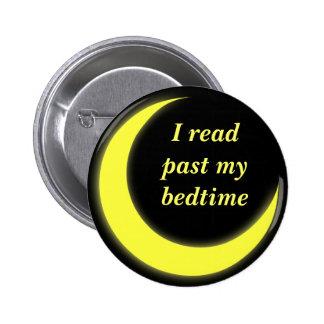 Leí más allá de mi botón de la hora de acostarse