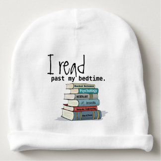 Leí más allá de mi gorrita tejida del bebé de la gorrito para bebe