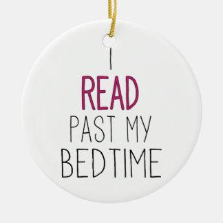 Leí más allá de mi hora de acostarse