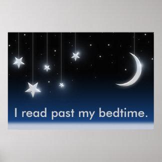 Leí más allá de mi poster de la hora de acostarse