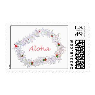 Lei of Aloha Postage Stamp