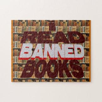Leí rompecabezas de los libros prohibidos