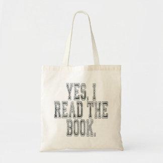 Leí sí el gris del libro bolsas de mano