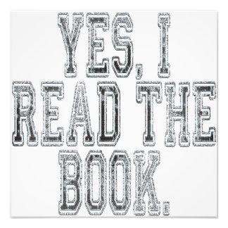 Leí sí el gris del libro fotografía