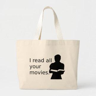 Leí todas sus películas bolsas