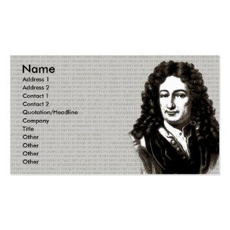 Leibniz business card