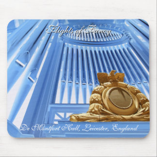 Leicester organ - Flights of Fancy Mouse Pad